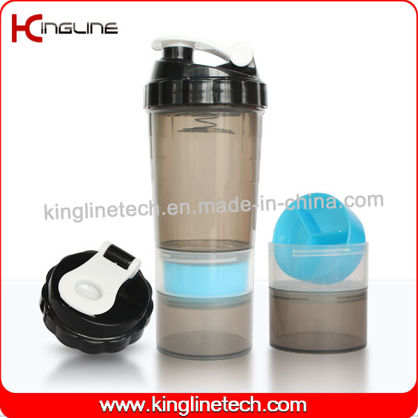 Popular Design smart shaker Spider Bottle 3 in 1 shaker fitness water bottle gym shaker protein shaker bottle sports bottle gym bottle shaker cup