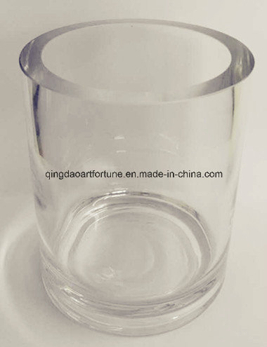 Cylinder Glass Vase with Different Sizes