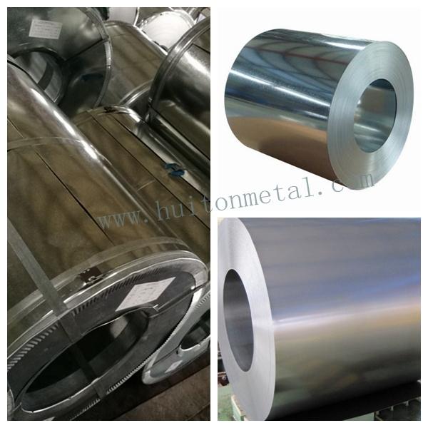 Hot Dipped Galvanized Steel Coil Dx51d, Gi, SGCC, ASTM653