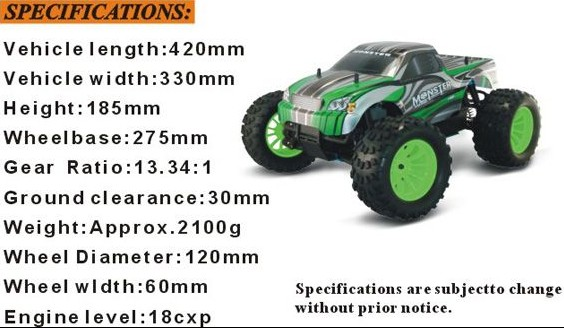 Shenzhen Factory Remote Control High Speed Nitro RC Car for Kids Car Games