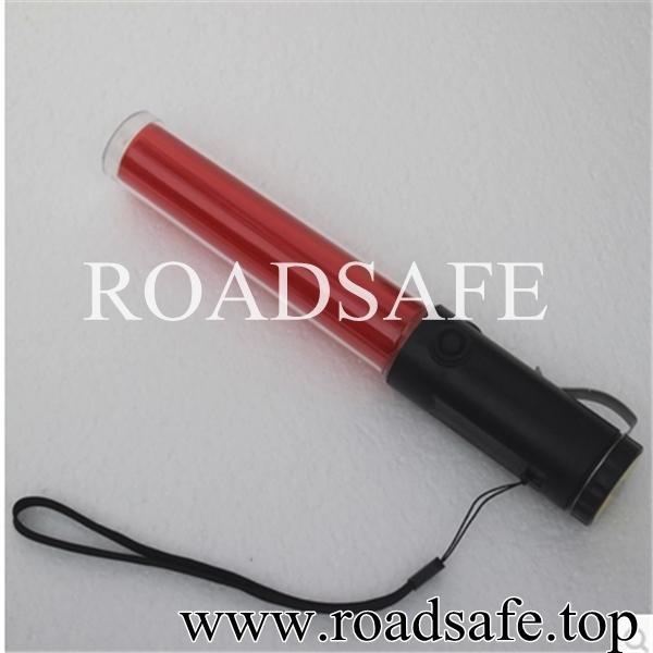 Rechargeable Signal Baton LED Warning Strobe Flashing Traffic Baton Torch