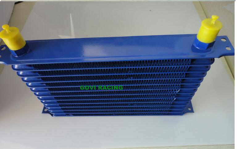 13 Row Blue An10 Transmission Cooler Racing Oil Cooler radiator
