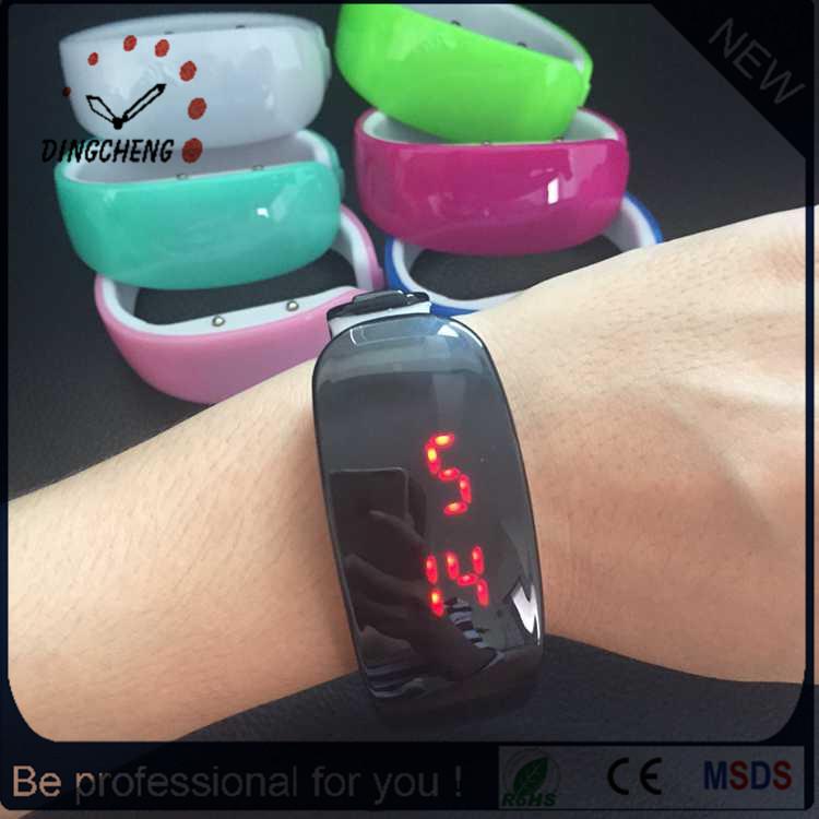 Sports Wrist Silicone Digital LED Digital Electronic Wrist Watch (DC-1103)