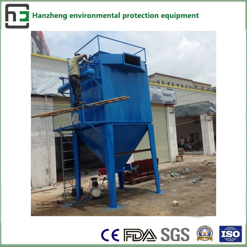 Industrial Dust Collector-2 Long Bag Low-Voltage Pulse Dust Collector