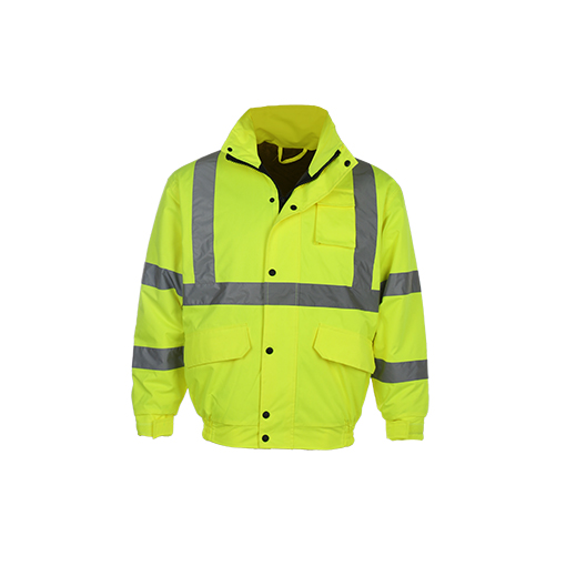 100% Polyester Bomber Reflective Jacket
