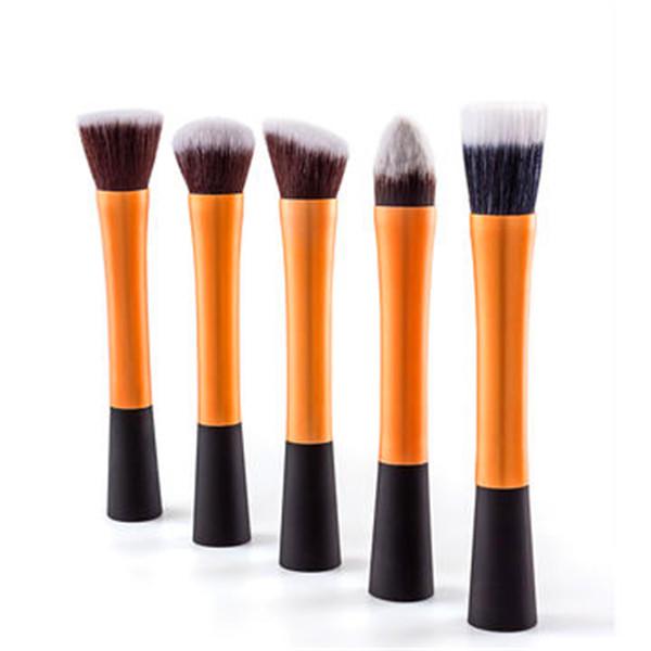 5PCS Women's Flat Kabuki Foundation Makeup Brushes