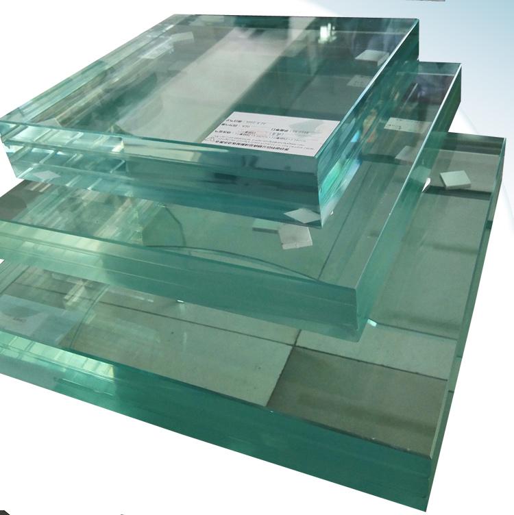 Triplex Laminated Glass Panel