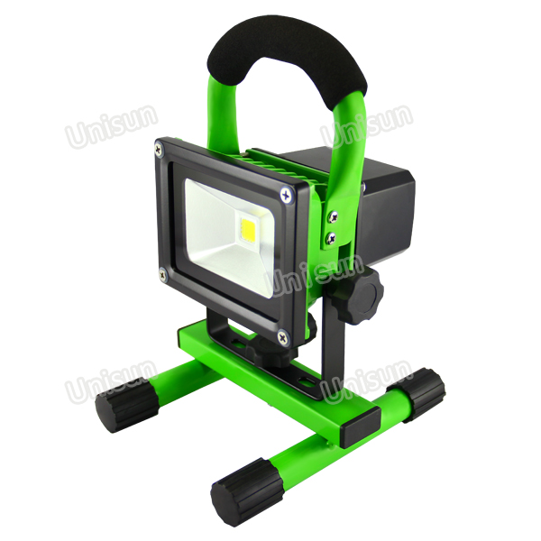 100-240V AC 10W 120degree Wide Flood LED Work Light