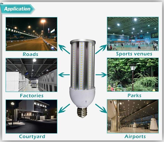 Water-Proof IP64 27W 36W 45W 54W LED Corn Light with 3 Years Warranty