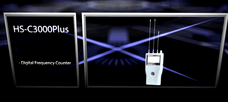 Wireless Metal Detector Frequency Counter