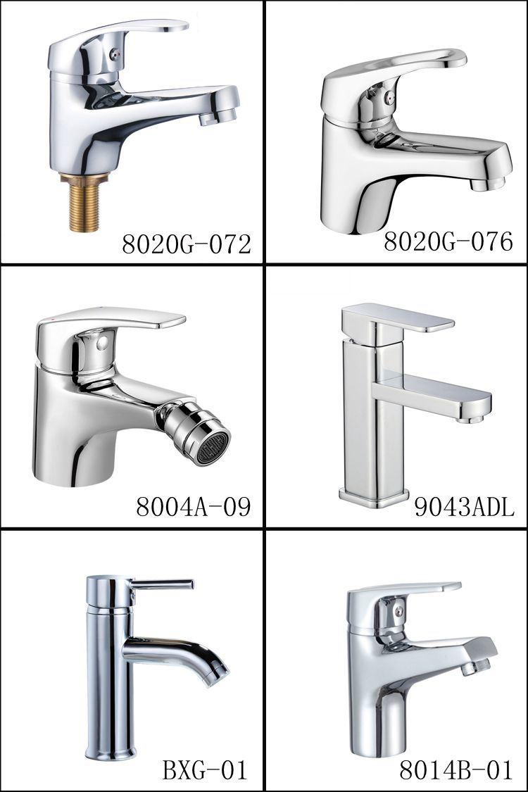 OEM Reasonable Price China Sanitary Ware Bathroom Chrome Single Hole Lavatory Washbasin Mixer Faucet
