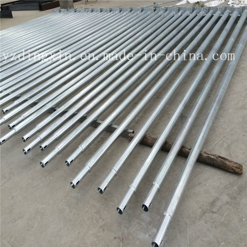 Ce Folding Street Lighting Pole, Used Light Poles for Sale, Concrete Street Light Poles