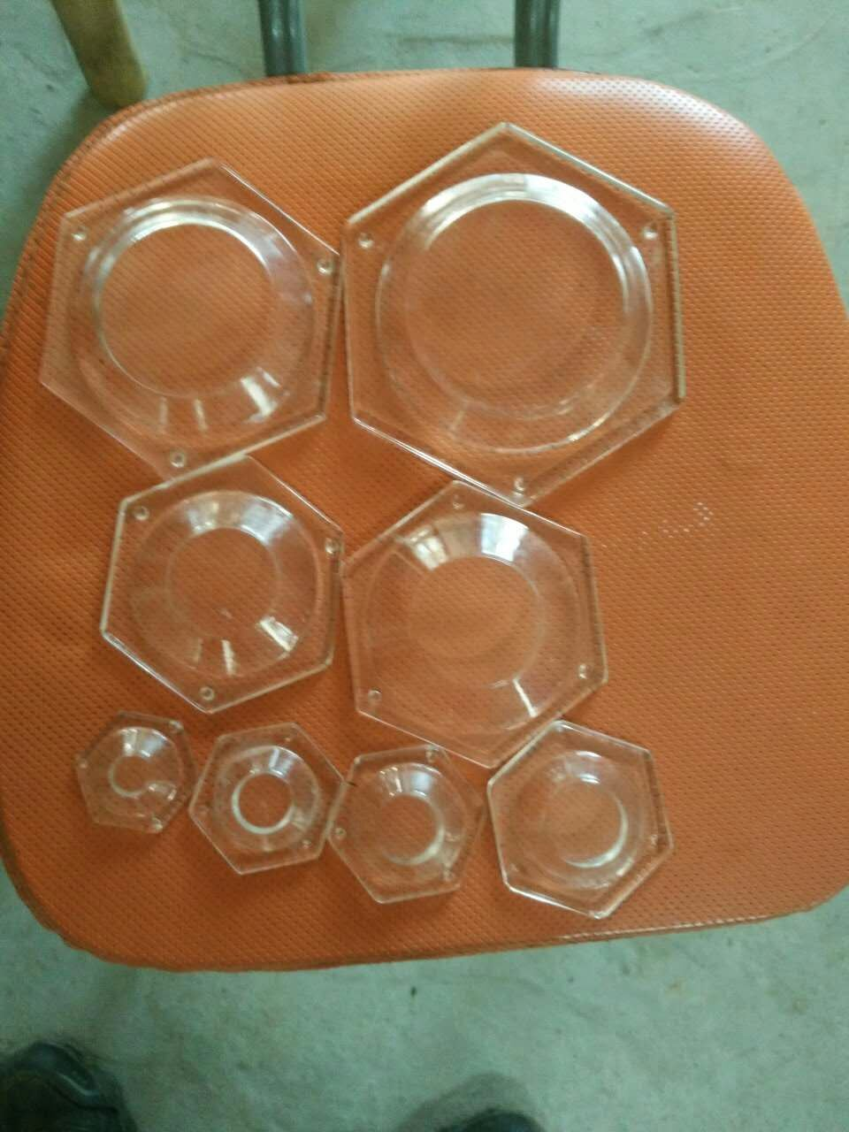 Borosilicate Hexagonal Glass Base