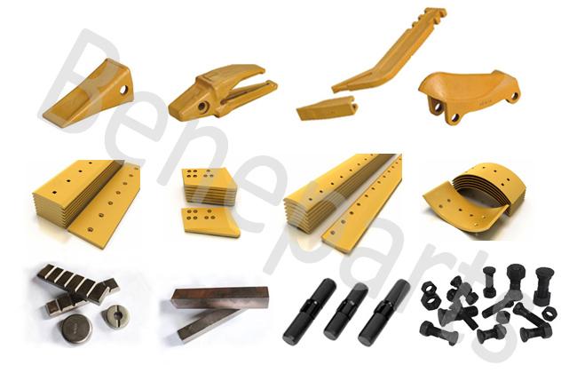209-939-5170-140 Spare Parts Bucket Corner Protector