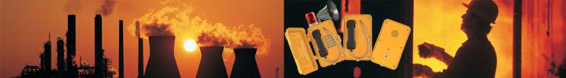 Waterproof Alarm Telephone, Industrial Emergency Intercom, Passenger Help Point