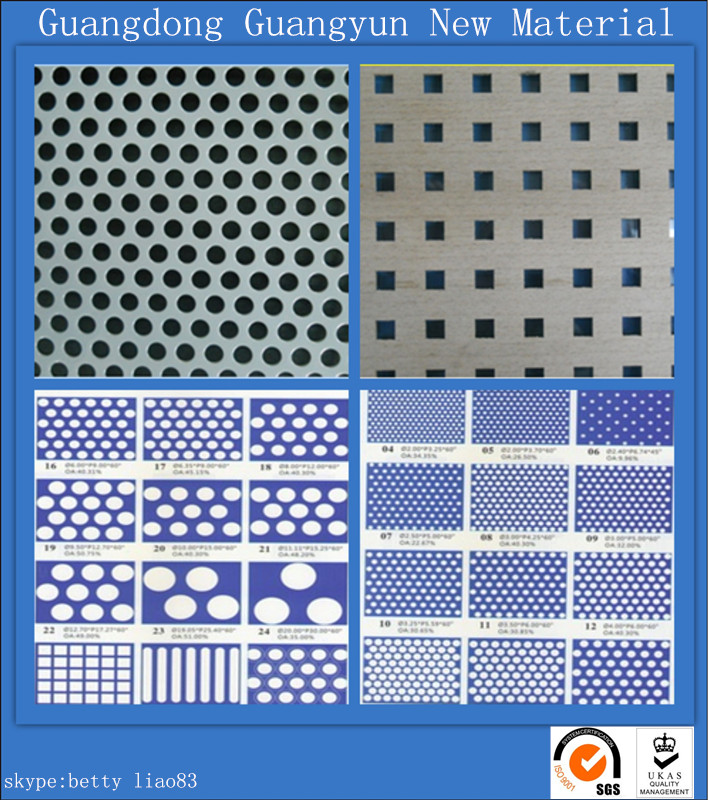 Aluminum Perforated Ceiling Panel (A1050 1060 1100 3003 5005)