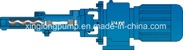 Xinglong Micro Single Screw Pumps Used for Metering or Dosing Medicine, PAM and Other Liquids