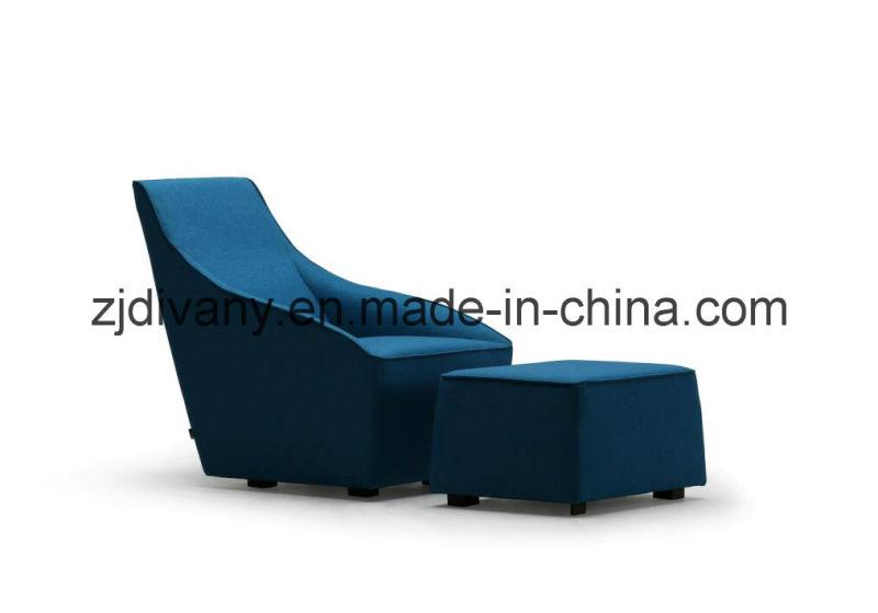 Leisure Sofa Fabric Single Sofa Furniture (D-54)