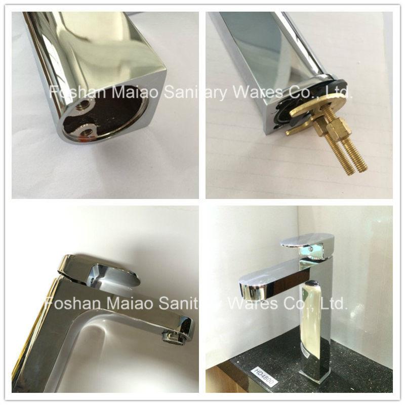 Watermark Sanitary Ware Brass Bathroom Basin Water Tap (HD4800)