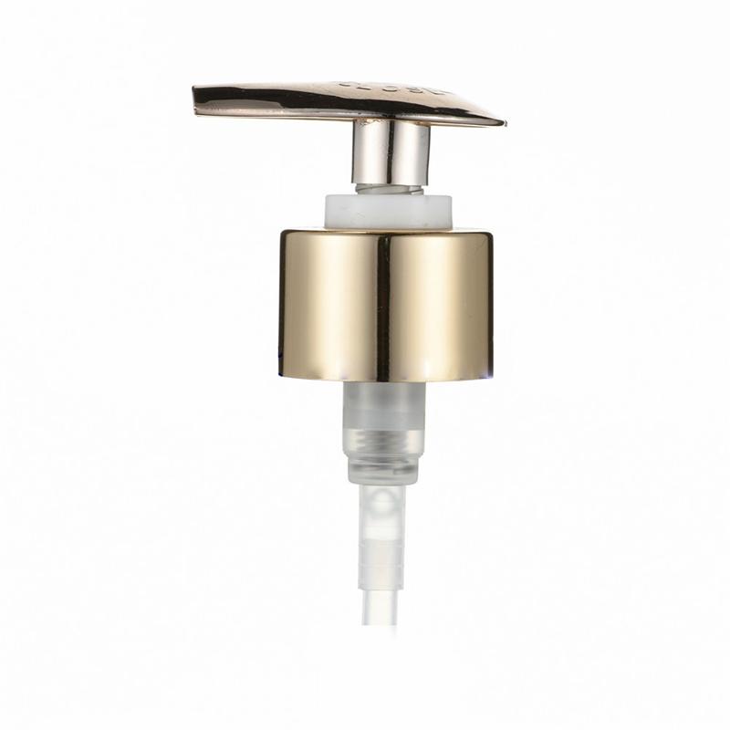 Aluminium Closure Dispenser Lotion Pump for Bottle (NP17)