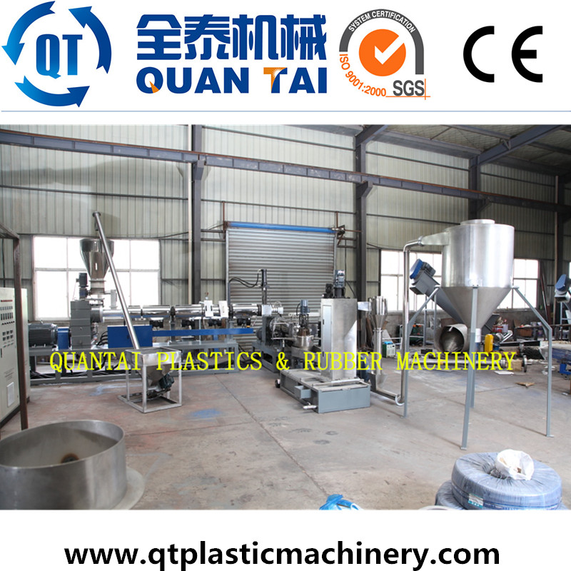 Used Production Line Plastic Recycling Machinery for Granulation