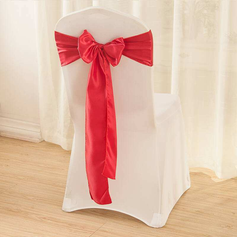 Plain Solid Color Hotel Chair Cover Polyeaster Cover (JRD910)