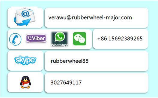 5-8 Inch Heavy Duty PU Wheel Industrial Caster