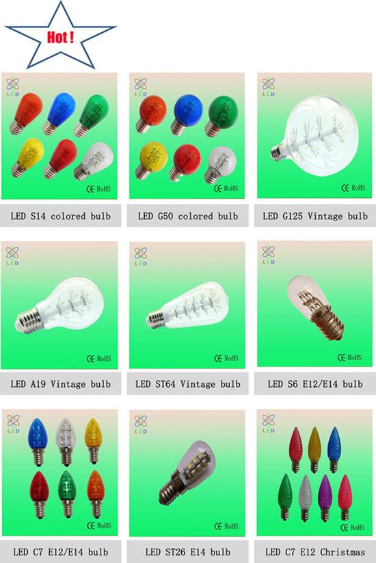 LED T22 15SMD 3528 Refrigerator Lamp LED T22 0.8W E14 Fridge Bulb