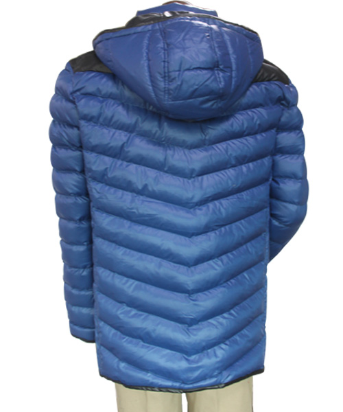 China OEM Winter Windproof Windproof Padded Hoody Quilted Leisure Winter Jacket Men