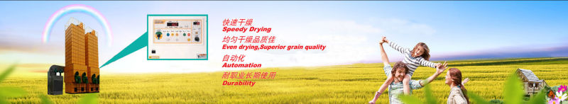 Low-Temperature Drying Wheat Dryer