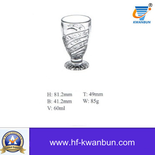 Mould Glass Tea Cup Glass Cup Good Quality Kb-Hn0829