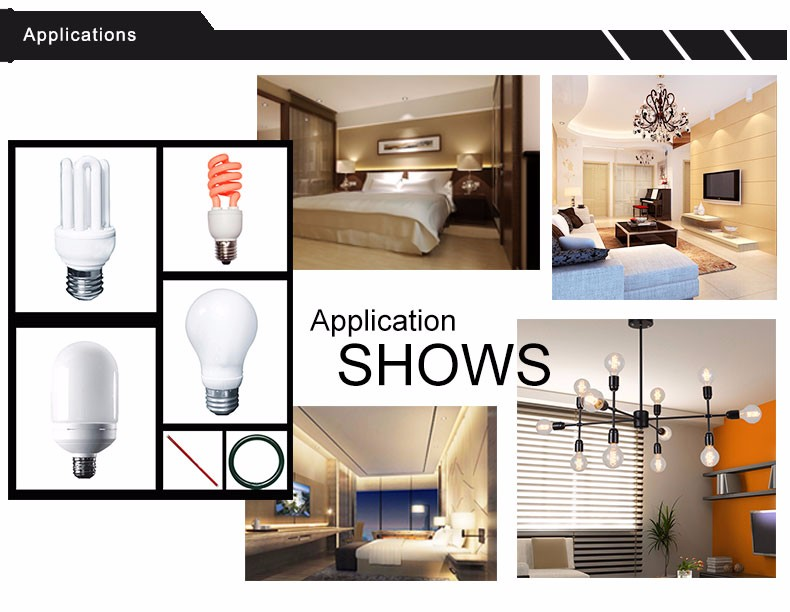 45W Lotus Energy Saving Lamp Lighting with E27/B22