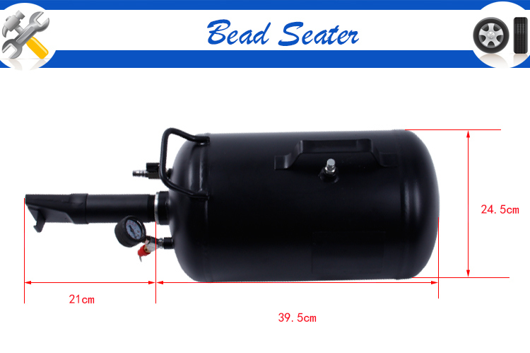 Pneumatic 5 Gallon Air Bead Seater with Ce Approval