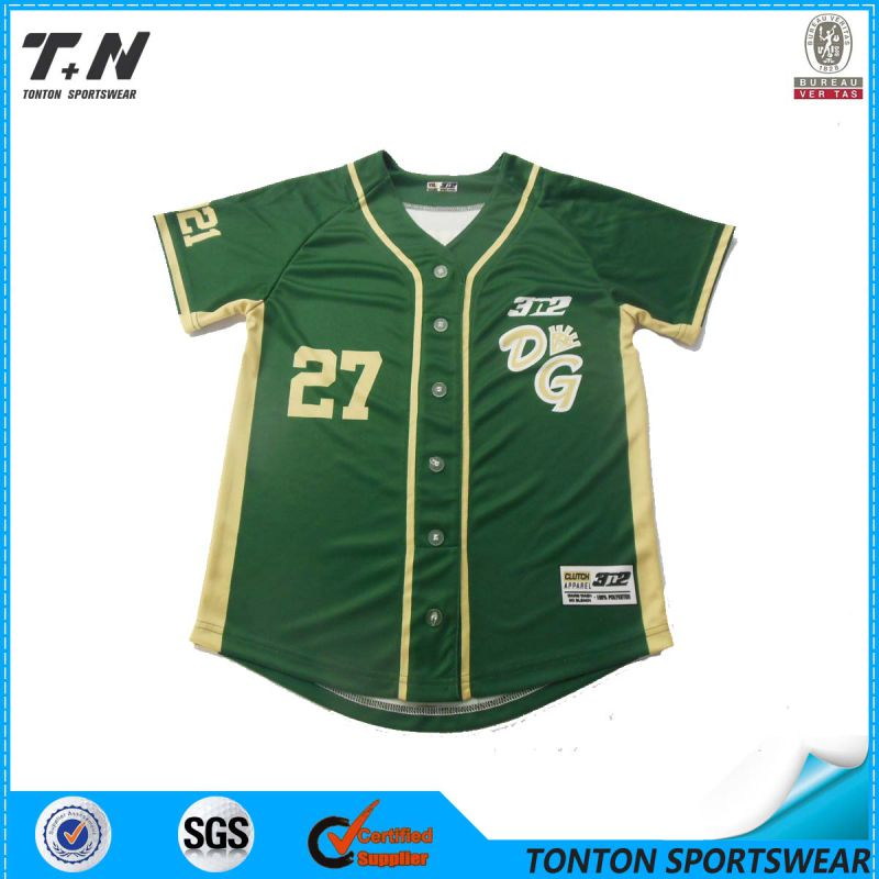 2015 Wholesale Latest Style Custom Baseball Jersey Sleeveless