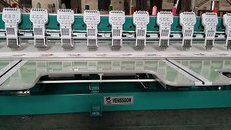 Computerized Flat Embroidery Machine
