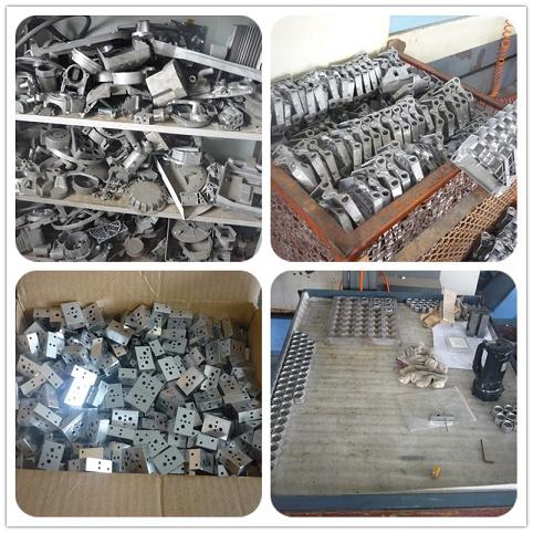 Aluminum Parts Made by Casting Mold