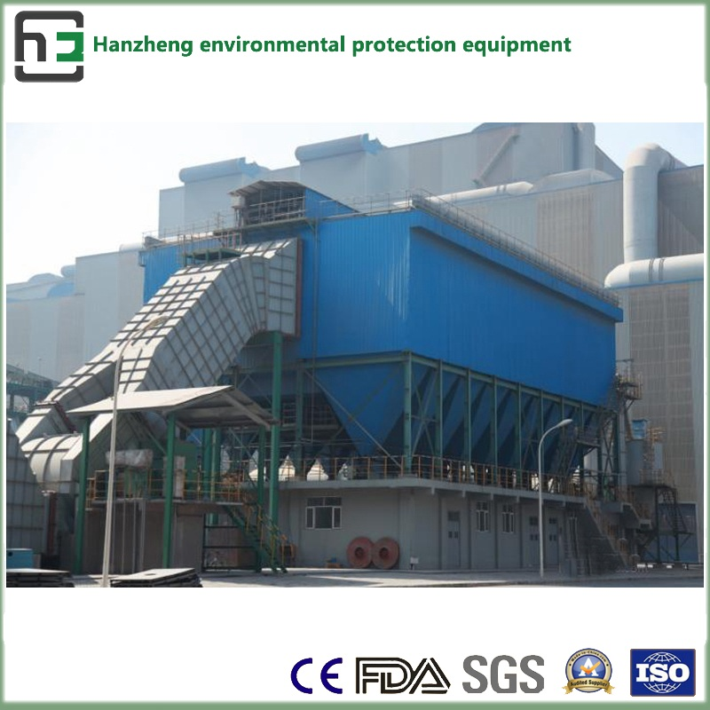 Side-Spraying Plus Bag-House Dust Collector