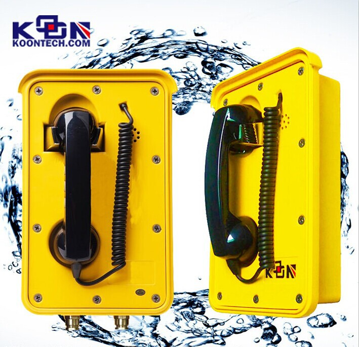 Auto-Dial Stainless Steel Heavy Duty Area Waterproof Phone