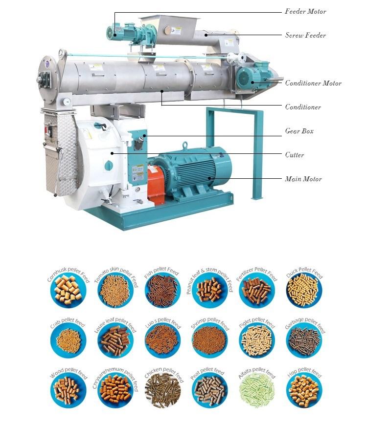 Competitive Cattle Pelletizing Machine China Manufacturer
