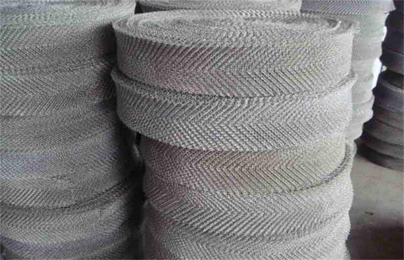 Copper Knitted Wire Mesh for Making Mesh Scourer and Scrubber Ball