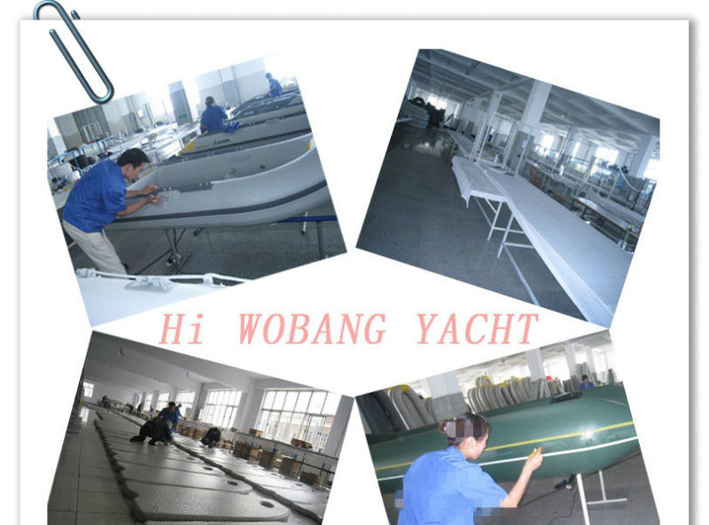 420cm Wider Fishing Boat with Tent