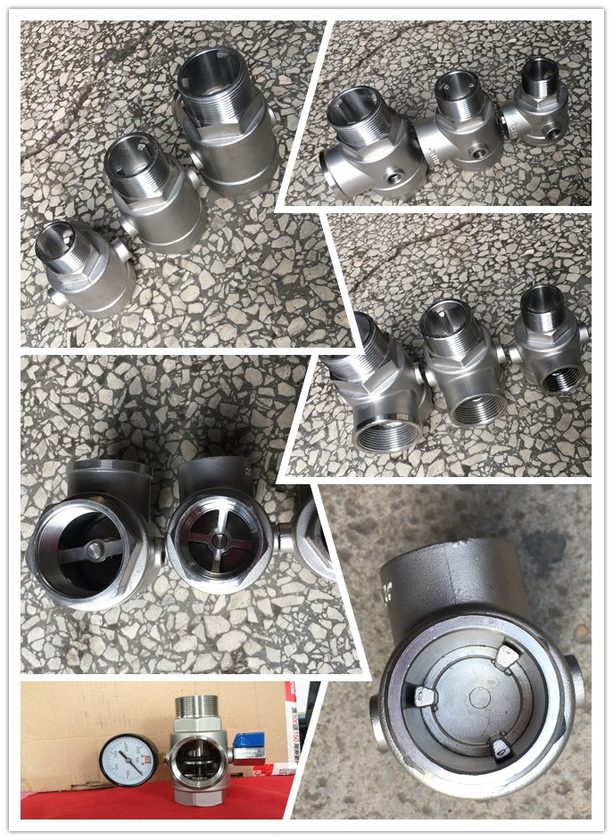 DIN Wafer Type Stainless Steel 304 Spring Check Valve