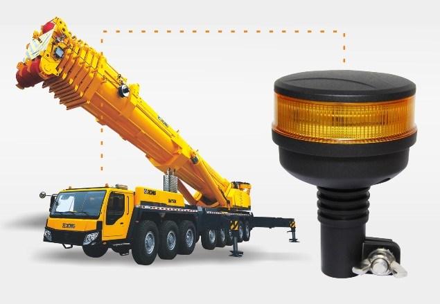 Class 1 LED Warning Light Strobe Lamp Rotating Beacon 11-32V Bolt/Flange Mount