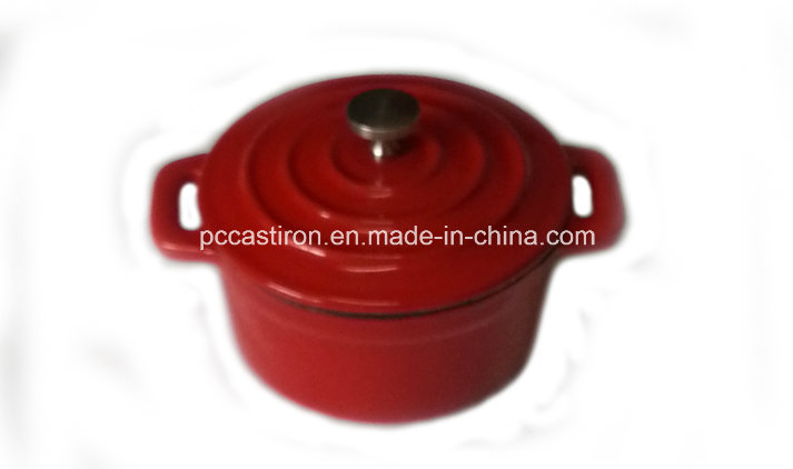 Enamel Cast Iron Mini Casserole Dia 10cm