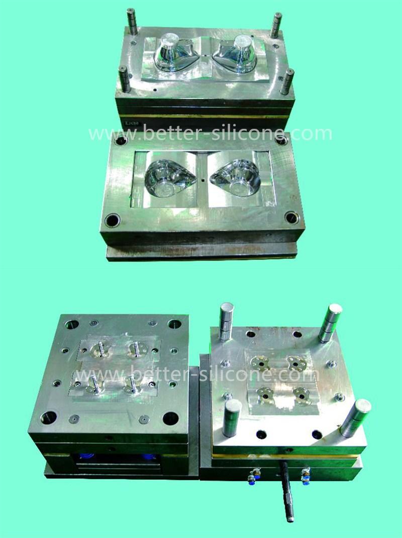 Clear Soft Liquid Silicone Rubber Valve, LSR Umbrella Valve