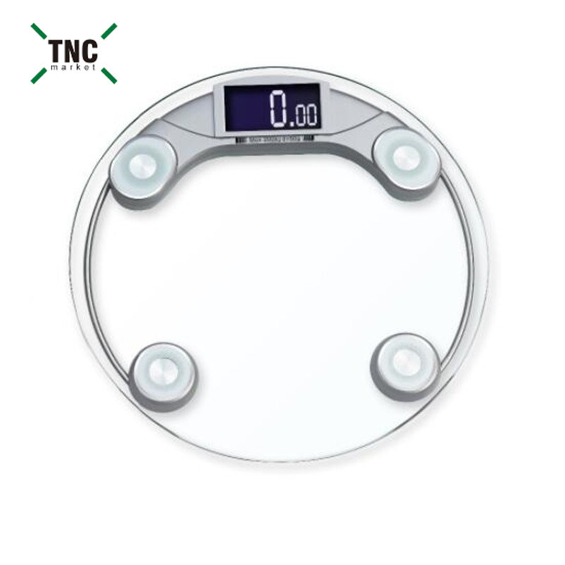 Hotel Bathroom Glass Weighing Scale