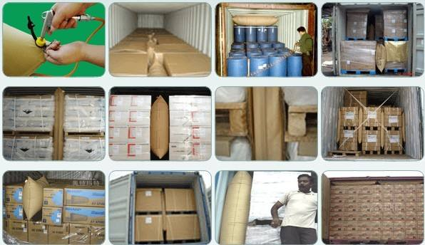 Brown Kraft Paper Dunnage Air Bag for Container