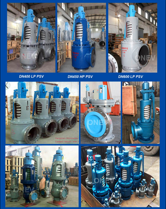 API/DIN Big Size Gas Water Oil RF Relief Safety Valve (A42H-16