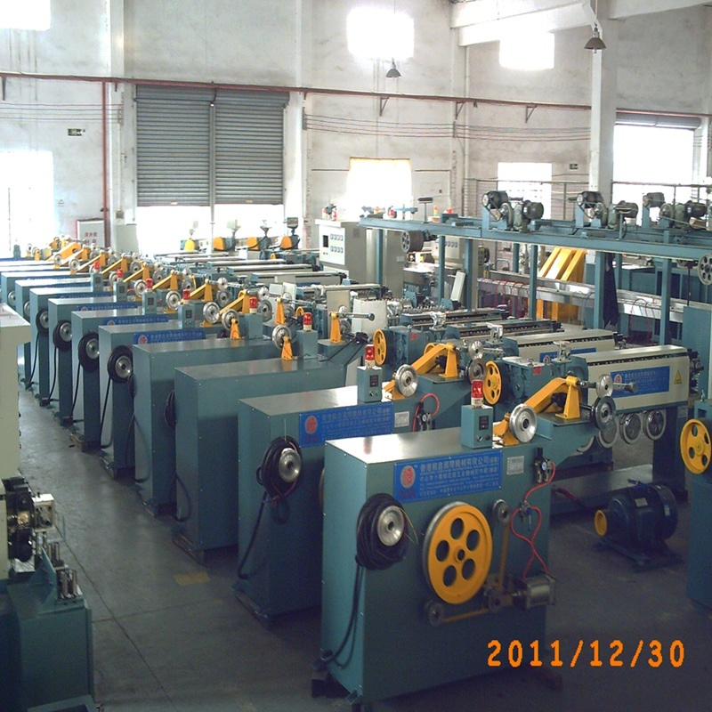 Finished LED Strip Lights Extrusion Production Line Machine
