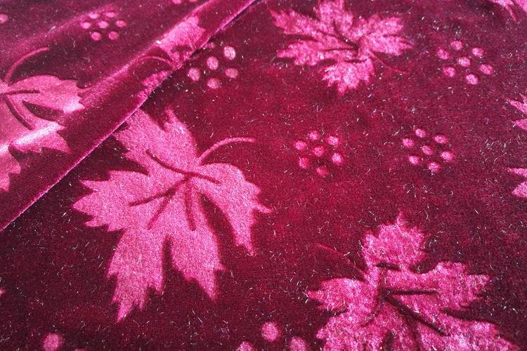 Polyester Spandex Velvet Fabric